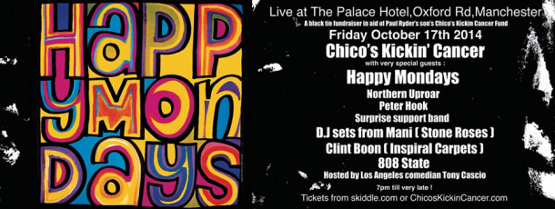 Line-up revealed for Happy Mondays Black Tie fundraiser show