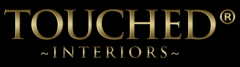 Luxury Interiors Brand 'Touched' sign jwc